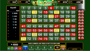 online keno at gambling city