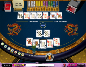 Online Pai Gow Poker at gambling city